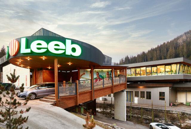 Firmenzentrale Leeb Balkone GmbH in Gnesau